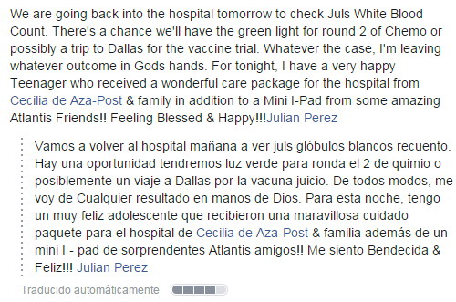 Cancer Quimioterapia Radioterapia Cirugia Tratamiento Medico Oficial Facebook Articulo Pasadofuturo.com Andy