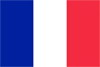 Bandera Francia Francesa