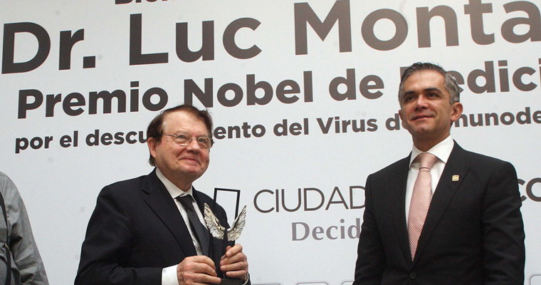 Lug Montagnier SIDA VIH Nueva Medicina Germanica NMG Hamer Leyes Biologicas 5LB Premio Nobel