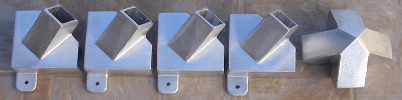 Piramides energeticas uniones juegos 5 piezas aluminio ca os for Uniones para perfiles cuadrados de aluminio