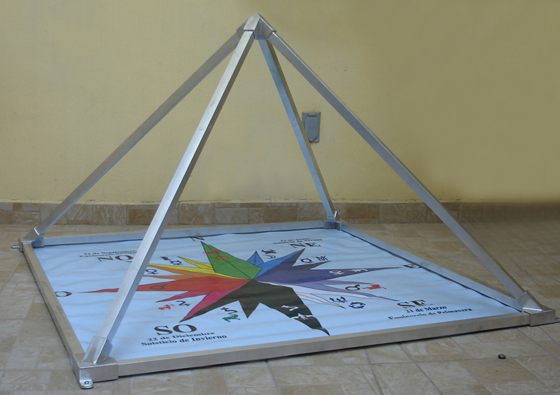 Energia Piramidal Instalacion Piramides Energeticas Pyramid