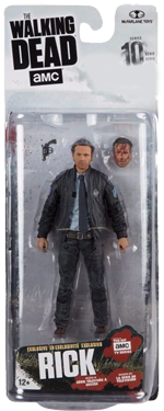 The Walking Dead McFarlane Toys Eaglemoss Collections AMC FOX Serie 10 TV Figures Collectible Action Accion Figuras Coleccion Rick Grimes