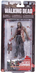 The Walking Dead McFarlane Toys Eaglemoss Collections AMC FOX Serie 3 TV Figures Collectible Action Accion Figuras Coleccion Autopsy Zombie