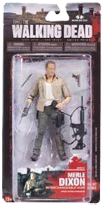 The Walking Dead McFarlane Toys Eaglemoss Collections AMC FOX Serie 3 TV Figures Collectible Action Accion Figuras Coleccion Merle Dixon