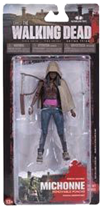 The Walking Dead McFarlane Toys Eaglemoss Collections AMC FOX Serie 3 TV Figures Collectible Action Accion Figuras Coleccion Michonne