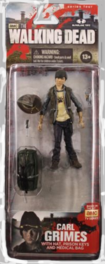 The Walking Dead McFarlane Toys Eaglemoss Collections AMC FOX Serie 4 TV Figures Collectible Action Accion Figuras Coleccion Carl Grimes
