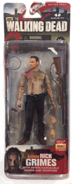 The Walking Dead McFarlane Toys Eaglemoss Collections AMC FOX Serie 4 TV Figures Collectible Action Accion Figuras Coleccion Rick Grimes
