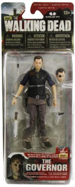 The Walking Dead McFarlane Toys Eaglemoss Collections AMC FOX Serie 4 TV Figures Collectible Action Accion Figuras Coleccion Governor