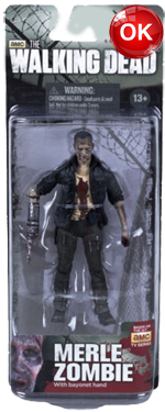 The Walking Dead McFarlane Toys Eaglemoss Collections AMC FOX Serie 5 TV Figures Collectible Action Accion Figuras Coleccion Merle Zombie