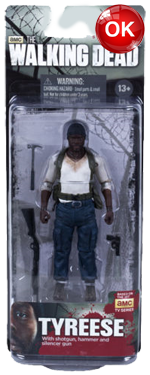The Walking Dead McFarlane Toys Eaglemoss Collections AMC FOX Serie 5 TV Figures Collectible Action Accion Figuras Coleccion Tyreese