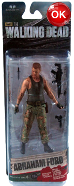 The Walking Dead McFarlane Toys Eaglemoss Collections AMC FOX Serie 6 TV Figures Collectible Action Accion Figuras Coleccion Abraham Ford