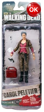 The Walking Dead McFarlane Toys Eaglemoss Collections AMC FOX Serie 6 TV Figures Collectible Action Accion Figuras Coleccion Carol Peletier
