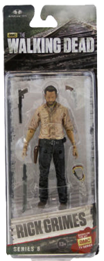 The Walking Dead McFarlane Toys Eaglemoss Collections AMC FOX Serie 6 TV Figures Collectible Action Accion Figuras Coleccion Rick Grimes