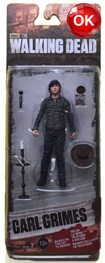 The Walking Dead McFarlane Toys Eaglemoss Collections AMC FOX Serie 7 TV Figures Collectible Action Accion Figuras Coleccion Carl Grimes