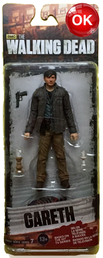 The Walking Dead McFarlane Toys Eaglemoss Collections AMC FOX Serie 7 TV Figures Collectible Action Accion Figuras Coleccion Gareth