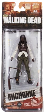 The Walking Dead McFarlane Toys Eaglemoss Collections AMC FOX Serie 7 TV Figures Collectible Action Accion Figuras Coleccion Michonne