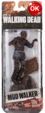 The Walking Dead McFarlane Toys Eaglemoss Collections AMC FOX Serie 7 TV Figures Collectible Action Accion Figuras Coleccion Mud Walker