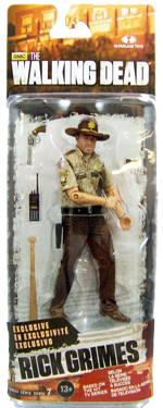 The Walking Dead McFarlane Toys Eaglemoss Collections AMC FOX Serie 7 TV Figures Collectible Action Accion Figuras Coleccion Rick Grimes