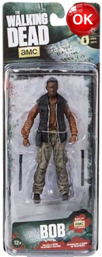 The Walking Dead McFarlane Toys Eaglemoss Collections AMC FOX Serie 8 TV Figures Collectible Action Accion Figuras Coleccion Bob