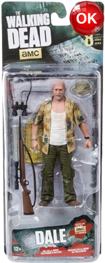 The Walking Dead McFarlane Toys Eaglemoss Collections AMC FOX Serie 8 TV Figures Collectible Action Accion Figuras Coleccion Dale