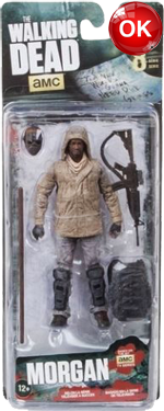 The Walking Dead McFarlane Toys Eaglemoss Collections AMC FOX Serie 8 TV Figures Collectible Action Accion Figuras Coleccion Morgan