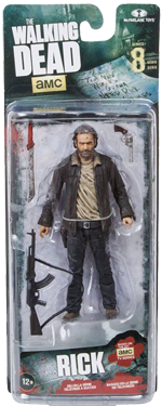 The Walking Dead McFarlane Toys Eaglemoss Collections AMC FOX Serie 8 TV Figures Collectible Action Accion Figuras Coleccion Rick Grimes