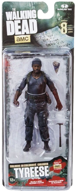The Walking Dead McFarlane Toys Eaglemoss Collections AMC FOX Serie 8 TV Figures Collectible Action Accion Figuras Coleccion Tyreese