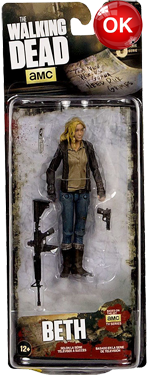 The Walking Dead McFarlane Toys Eaglemoss Collections AMC FOX Serie 9 TV Figures Collectible Action Accion Figuras Coleccion Beth