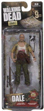 The Walking Dead McFarlane Toys Eaglemoss Collections AMC FOX Serie 10 TV Figures Collectible Action Accion Figuras Coleccion Dale