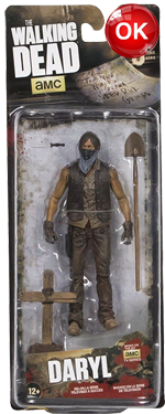 The Walking Dead McFarlane Toys Eaglemoss Collections AMC FOX Serie 9 TV Figures Collectible Action Accion Figuras Coleccion Daryl Dixon