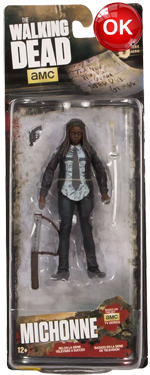 The Walking Dead McFarlane Toys Eaglemoss Collections AMC FOX Serie 9 TV Figures Collectible Action Accion Figuras Coleccion Michonne