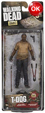 The Walking Dead McFarlane Toys Eaglemoss Collections AMC FOX Serie 9 TV Figures Collectible Action Accion Figuras Coleccion T-Dog