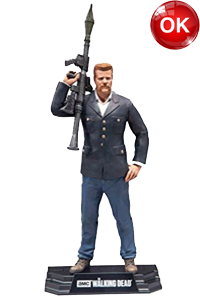The Walking Dead McFarlane Toys Eaglemoss Collections AMC FOX Serie TV Figures Collectible Action Accion Figuras Coleccion Abraham Ford