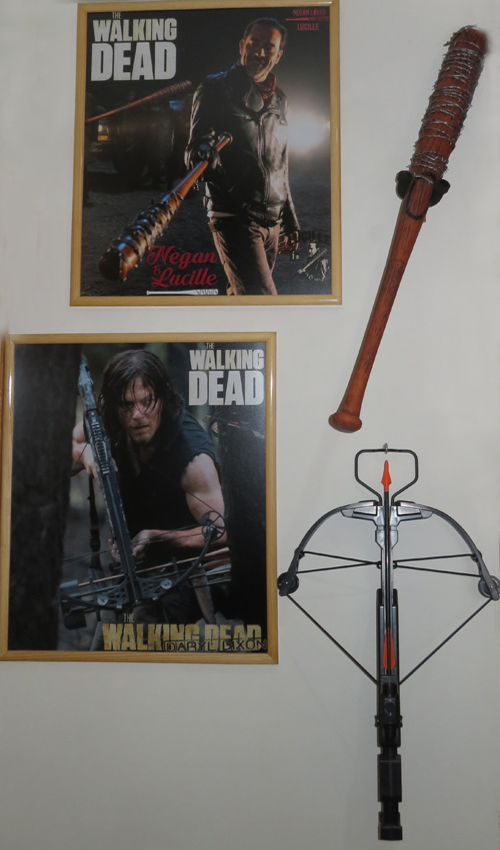 The Walking Dead McFarlane Toys Eaglemoss Collections AMC FOX Serie TV Figures Collectible Action Accion Figuras Coleccion Daryl Dixon Ballesta Negan Lucille Bat
