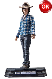 The Walking Dead McFarlane Toys Eaglemoss Collections AMC FOX Serie TV Figures Collectible Action Accion Figuras Coleccion Carl Grimes