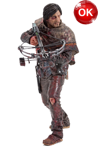The Walking Dead McFarlane Toys Eaglemoss Collections AMC FOX Serie TV Figures Collectible Action Accion Figuras Coleccion Daryl Dixon Survivor