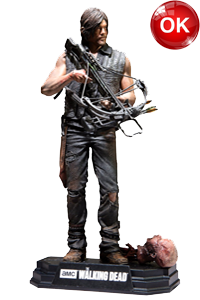 The Walking Dead McFarlane Toys Eaglemoss Collections AMC FOX Serie TV Figures Collectible Action Accion Figuras Coleccion Daryl Dixon