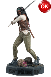 The Walking Dead McFarlane Toys Eaglemoss Collections AMC FOX Serie TV Figures Collectible Action Accion Figuras Coleccion Michonne