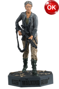 The Walking Dead McFarlane Toys Eaglemoss Collections AMC FOX Serie TV Figures Collectible Action Accion Figuras Coleccion Carol