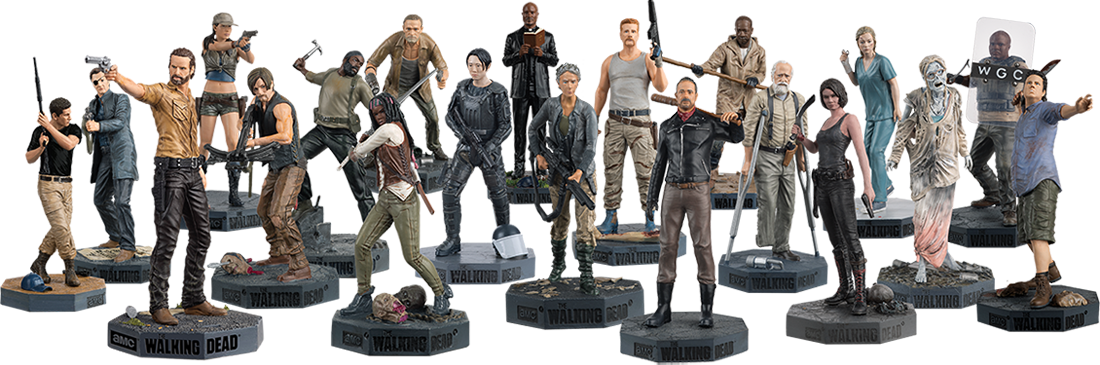The Walking Dead McFarlane Toys Eaglemoss Collections AMC FOX Serie TV Figures Collectible Action Accion Figuras Coleccion