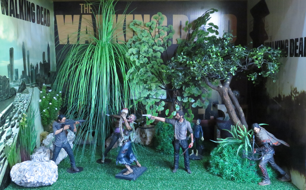 The Walking Dead McFarlane Toys Eaglemoss Collections AMC FOX Serie TV Figures Collectible Action Accion Figuras Coleccion Daryl Dixon Survivor Rick Grimes Glenn Michonne Zombies