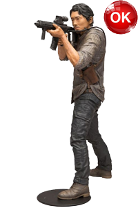 The Walking Dead McFarlane Toys Eaglemoss Collections AMC FOX Serie TV Figures Collectible Action Accion Figuras Coleccion Glenn Rhee